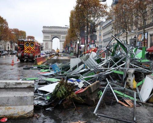 Opération Gilets Jaunes : Vandalisme / Émeute